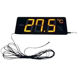 『 温度計 温度センサータイプ 』薄型温度表示器 メンブレンサーモ TP-300TB-10【 メーカー直送/代金引換決済不可 】