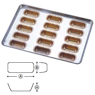 『 天板類 』シリコン シリコーン加工 フィンガー型 天板 M 15連