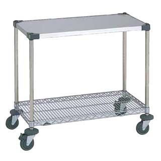 ワーキングテーブル 1型 NWT1B-S 【 メーカー直送/後払い決済不可 】 【 業務用 】 【 送料無料 】【 テーブル 】 【20P05Dec15】 メイチョー