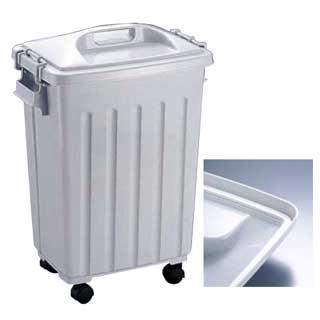 【まとめ買い10個セット品】グッドペール 40[キャスター付] 【 業務用 】【 ペール バケツ ゴミ箱 大型ごみ箱 キッチン 】 メイチョー