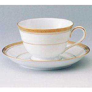 チャイナ カップ&ソーサー6客入 3859C・S/6124 【 業務用 】 【 送料無料 】【 Noritake ノリタケ コーヒー 紅茶 】 メイチョー