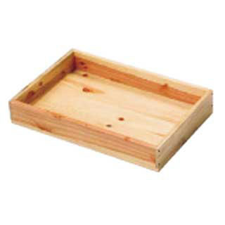 【まとめ買い10個セット品】SOボックス 白木4530 メイチョー