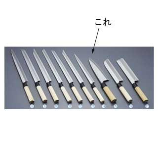 『 和包丁 出刃 』堺實光 上作 出刃[片刃]24cm 17538