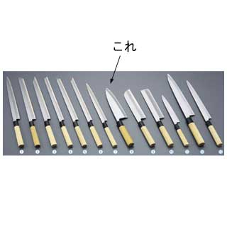 『 和包丁 出刃包丁 』堺實光 匠練銀三 出刃 片刃 22.5cm 37537