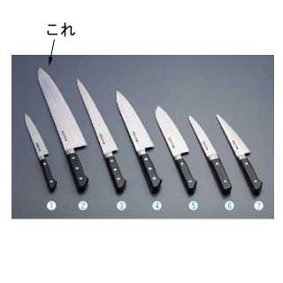『 洋包丁 牛刀 』堺實光 日本鋼 牛刀 両刃 27cm 50007
