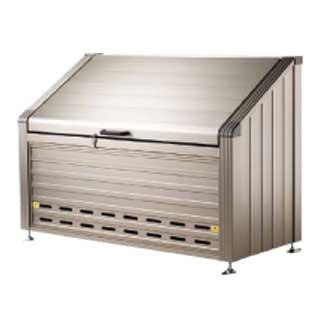 『 ゴミ箱 ゴミステーションボックス 』ゴミステーション GS-180W【 メーカー直送/後払い決済不可 】