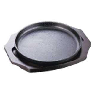【まとめ買い10個セット品】イシガキ ステーキ皿 丸型04-1717cm メイチョー