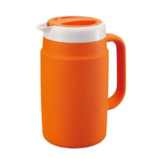 【まとめ買い10個セット品】業務用 タイガー保冷ピッチャーPPB-A170 オレンジ 1.7L メイチョー