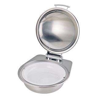 KINGO窓ナシカバー式丸チェーフィング小D105G-T陶器仕様 メイチョー