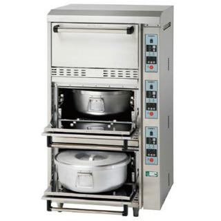 (訳ありセール 格安) コメットカトウ 炊飯器 CRAE2シリーズ 電気式 3段タイプ 760×730×1350 CRAE2-150 LPG(プロパンガス)【 メーカー直送/後払い決済 】【メイチョー】, ショップインバース 71e2ce7b
