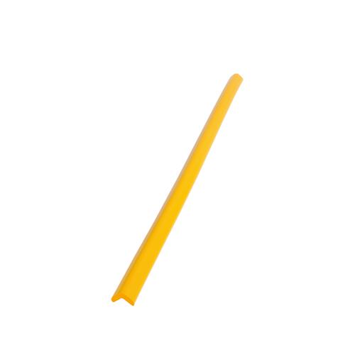 【まとめ買い10個セット品】 安心クッション L字型 (小) 411 イエロー 【メイチョー】
