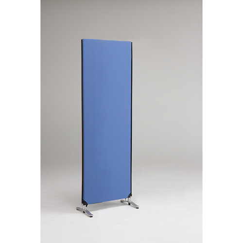 ZIP LINK システムパーティション 高さ1850mm YSNP70L-BL ブルー 1枚 林製作所 【メーカー直送/代金引換決済不可】【開業プロ】