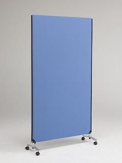 【まとめ買い10個セット品】ZIP LINK システムパーティション 高さ1850mm YSNP100L-BL ブルー 1枚 林製作所 【メーカー直送/代金引換決済不可】【開業プロ】
