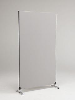 高さ1850mm 【まとめ買い10個セット品】ZIP 1枚 LINK 【メーカー直送/代金引換決済不可】【開業プロ】 ライトグレー システムパーティション YSNP100L-LG 林製作所