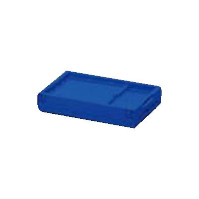 【まとめ買い10個セット品】ハード折りたたみコンテナ 本体 HDOC-50L ブルー 1個 アイリスオーヤマ【開業プロ】