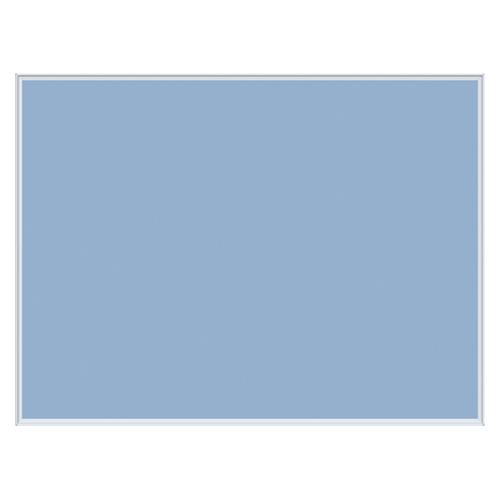 【まとめ買い10個セット品】壁掛け用ワンウェイ掲示板 ブルー K34-741 1枚 馬印 【メーカー直送/代金引換決済不可】【開業プロ】