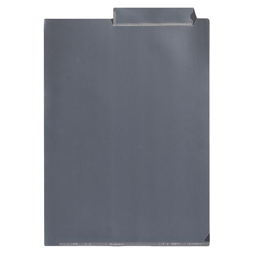 【まとめ買い10個セット品】 カルテホルダー 見出し紙付き CR-YG63-C クリア 【メイチョー】