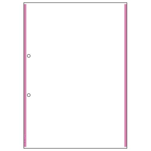 【まとめ買い10個セット品】 マルチプリンタ帳票 複写タイプ 100枚入 ラインタイプ BPC2204 ピンク 【メイチョー】