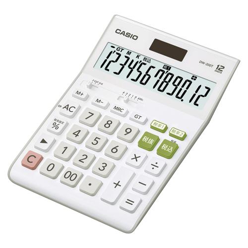 【まとめ買い10個セット品】電卓 DW-200T-N 1台 カシオ【開業プロ】