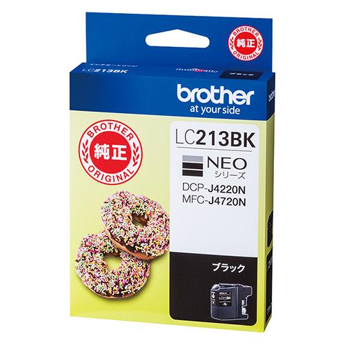 【まとめ買い10個セット品】インクジェットカートリッジ LC213BK 1個 ブラザー【開業プロ】