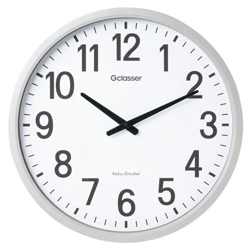 【まとめ買い10個セット品】電波掛時計 GDK-001 1個 キングジム 【メーカー直送/代金引換決済不可】【開業プロ】