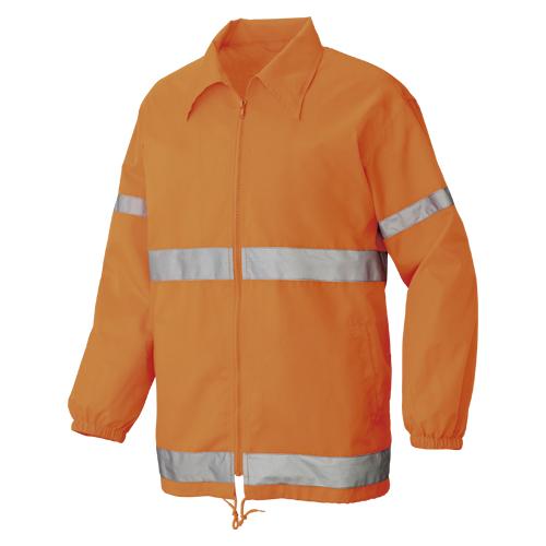 【まとめ買い10個セット品】裏メッシュジャケット L 50201-063L オレンジ 1枚 カンセン【開業プロ】