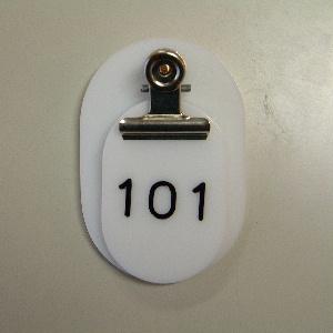 【まとめ買い10個セット品】 親子札 2枚1組・スチロール製 CR-OY150-W 白 【メイチョー】
