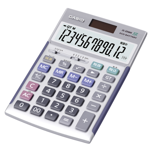 【まとめ買い10個セット品】 電卓 JS-20WK 【メイチョー】
