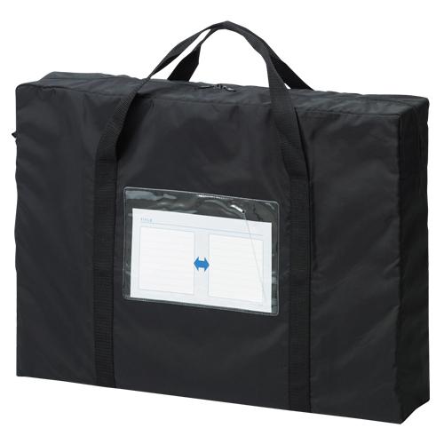 【まとめ買い10個セット品】メールバッグ A2 メールバッグビッグ CR-ME90-B ブラック 1個 クラウン【 ファイル ケース ケース バッグ メールバッグ 】【開業プロ】