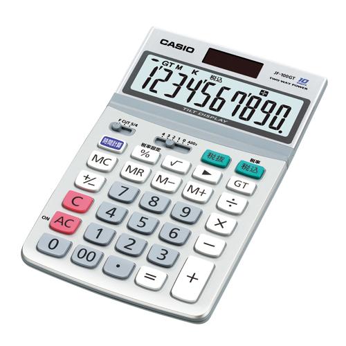 【まとめ買い10個セット品】電卓 JF-100GT-N 1台 カシオ【 オフィス機器 電卓 電子辞書 電卓 】【開業プロ】