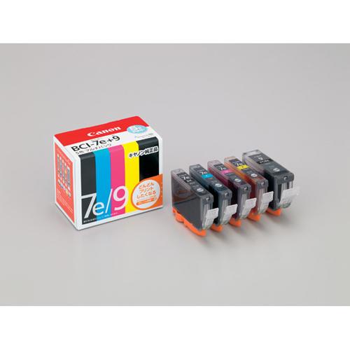 【まとめ買い10個セット品】インクジェットカートリッジ BCI-7E+9/5MP 1セット キヤノン【開業プロ】