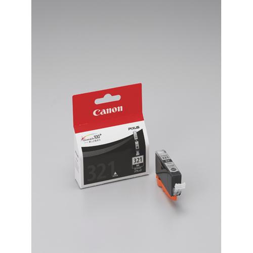 【まとめ買い10個セット品】 インクジェットカートリッジ BCI-321BK ブラック 【メイチョー】
