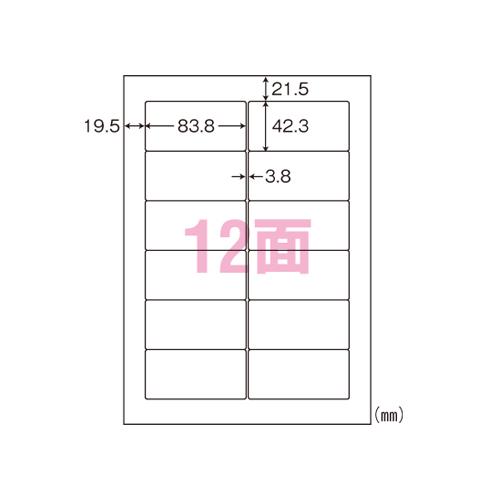 【まとめ買い10個セット品】 ナナラベル A4判 シンプルパック LDW12PGA 【メイチョー】
