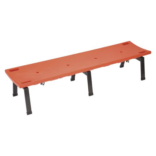 レスキューボードベンチ BC-309-118-5 オレンジ 【メイチョー】