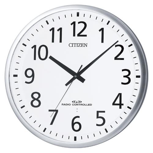 シチズン 掛時計 スペイシーM465 8MY465-019 ギン 【メイチョー】