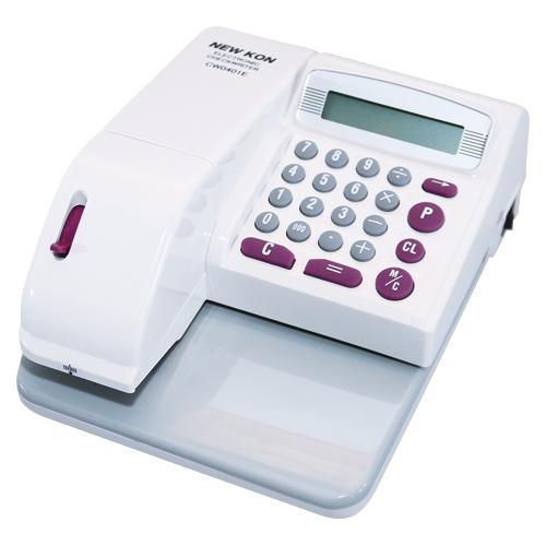 ニューコン工業 電子チェックライター CW0401E 【メイチョー】