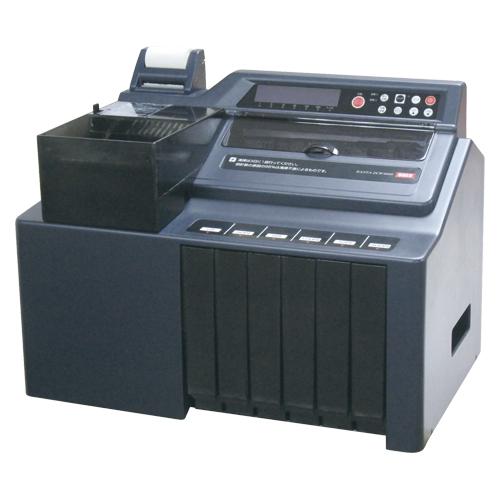 大容量硬貨選別計数機 DCW-6000 【メイチョー】