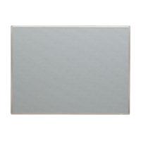 掲示板 壁掛用 ベルフォーム貼・アルミ枠 ライトグレー CR-BK34-LG 【メイチョー】