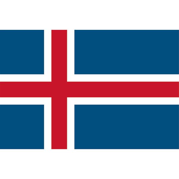 国旗 EXアイスランド 【 キャンセル/返品不可 】 【メイチョー】