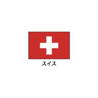 旗(世界の国旗) エクスラン国旗 スイス 取り寄せ商品