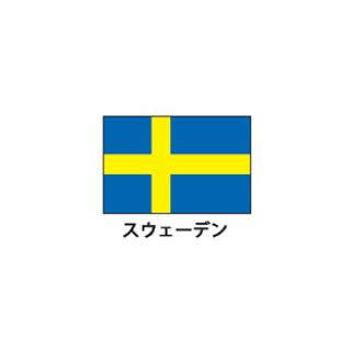 旗(世界の国旗) エクスラン国旗 スウェーデン 取り寄せ商品