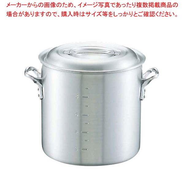 【まとめ買い10個セット品】キング アルミ 寸胴鍋(目盛付)30cm【 ガス専用鍋 】 【メイチョー】