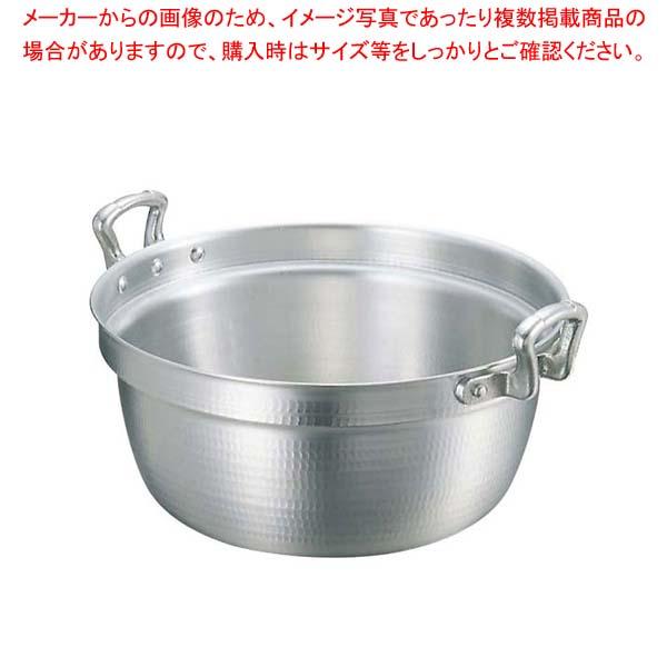 【まとめ買い10個セット品】キング アルミ 打出 料理鍋(目盛付)33cm【 ガス専用鍋 】 【メイチョー】