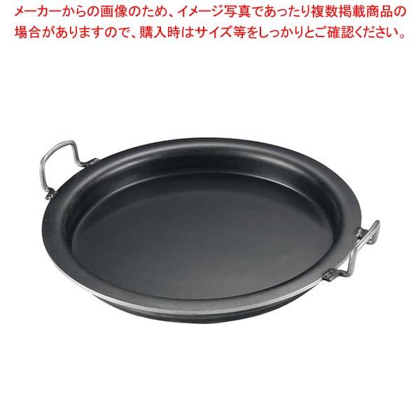 【まとめ買い10個セット品】 鉄 ギョーザ鍋 33cm メイチョー