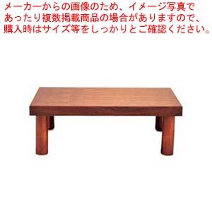 木製 システム ディスプレイスタンド ハイタイプ ブラウン【 ビュッフェ関連 】 【メイチョー】