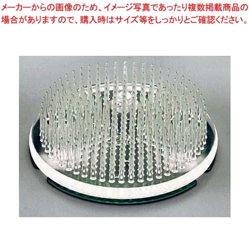 【まとめ買い10個セット品】 プラスチック剣山(カラー銅板付)緑 メイチョー