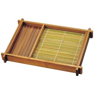 【まとめ買い10個セット品】 竹 そば盛 401 290×195×H37 メイチョー