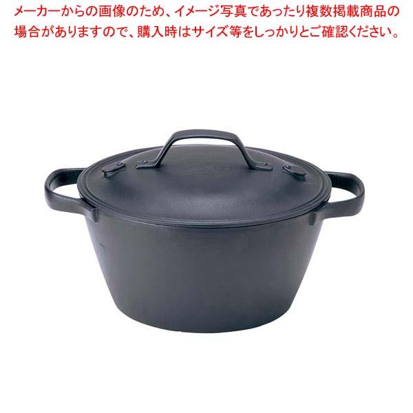 【まとめ買い10個セット品】 盛栄堂 クックトップ 煮込鍋 丸 深型 小 CT-5 【メイチョー】【 鍋全般 】