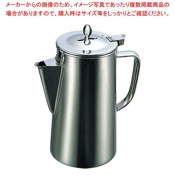 【まとめ買い10個セット品】PM 18-8 ウォーターポット 2L【 カフェ・サービス用品・トレー 】 【メイチョー】