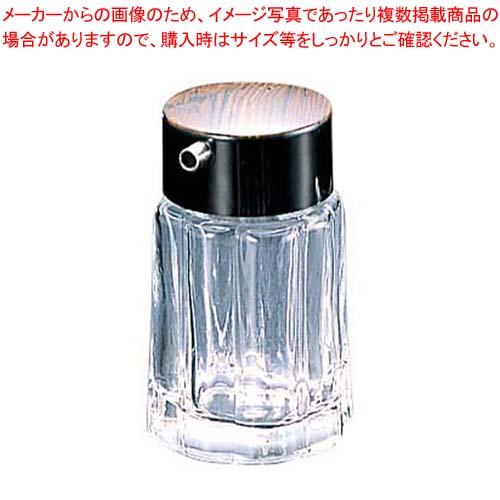 【まとめ買い10個セット品】 69 木目 ソースさし ガラス製 メイチョー